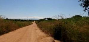 Väg i Mocambique