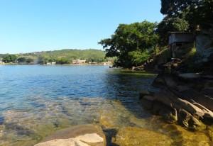 Badvik i Lake Malawi