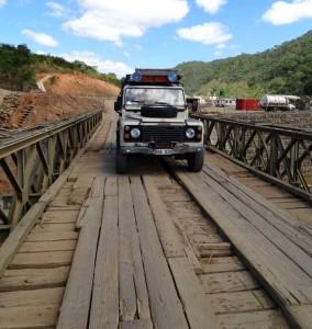 En bra bro över floden