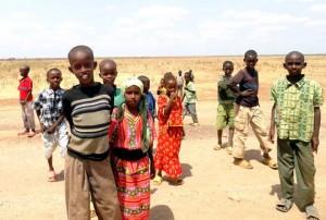 Etiopien barn