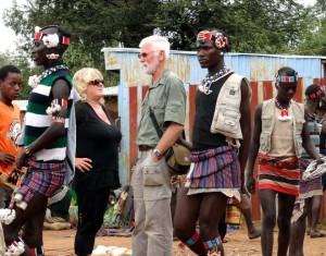 Stan och Marianne med Banna folk