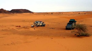 Camping i Sudan